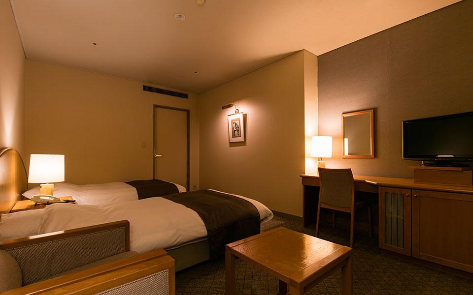 雙床雙人房、單人房