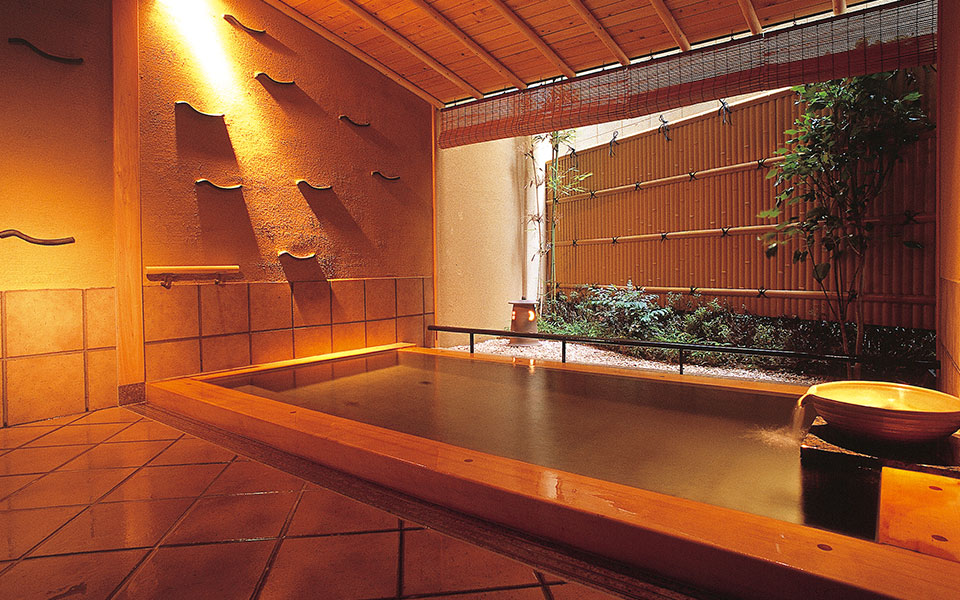 Wooden Bathtub Asagi